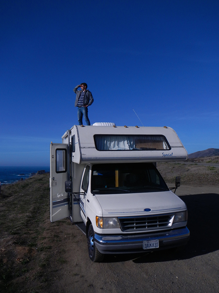 On top of my RV