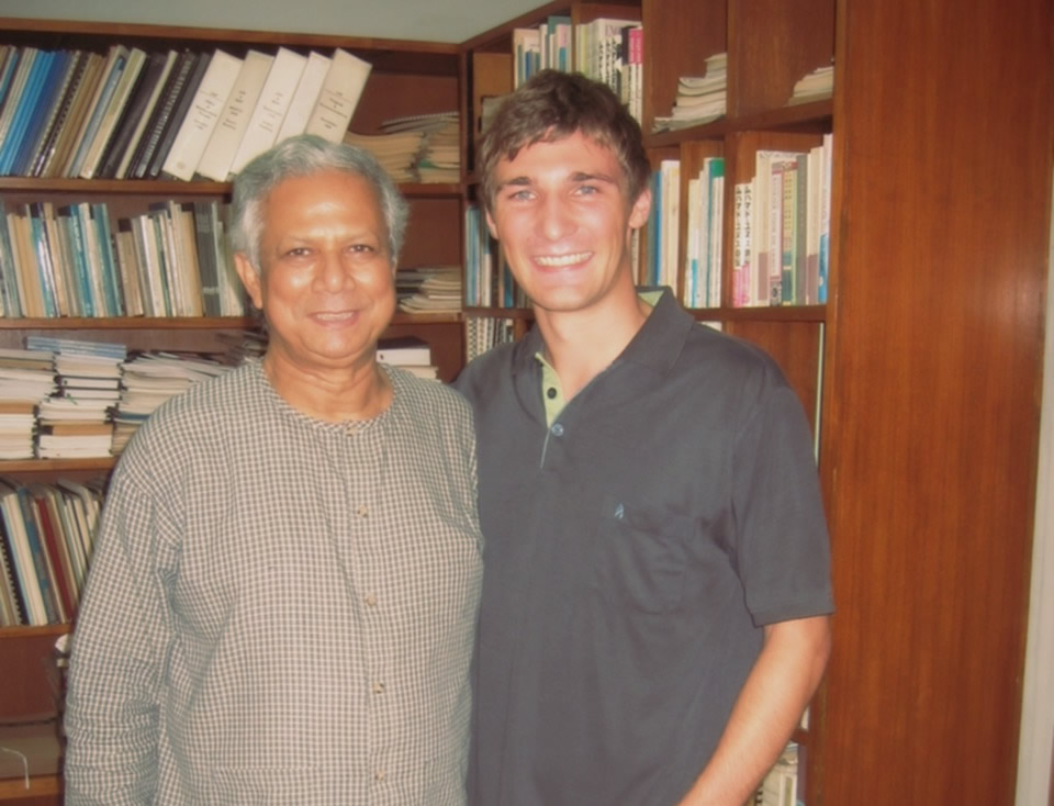 Professor Yunus and me